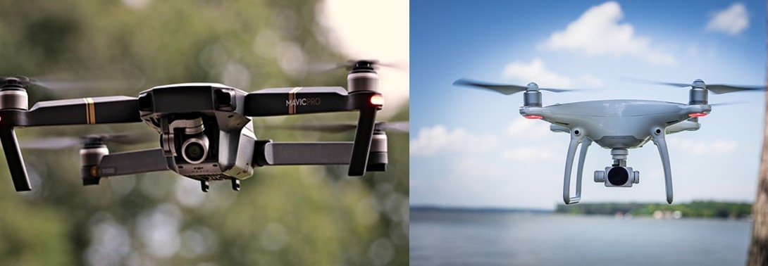 DJI Mavic Vs DJI Phantom 4 Pro