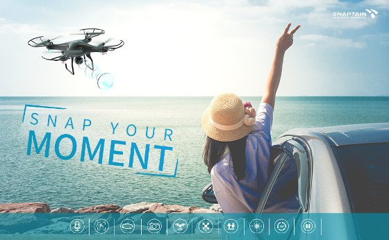 Snaptain SP600 Review – Awesome HD Camera Drone For Less Than $100