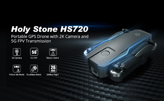 Holy Stone HS720 Review – Aweseome 2K Camera Drone