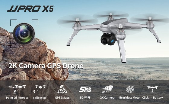 JJRC X5 Review – Good 2K Camera Drone, There Are Better Options