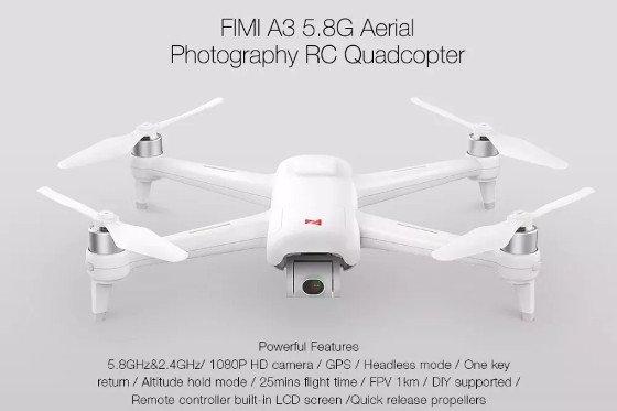 Xiaomi FIMI A3 Review – A Decent Budget Friendly HD Camera Drone
