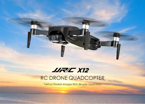 JJRC X12 Review – Decent HD Camera Drone With A 3-Axis Gimbal