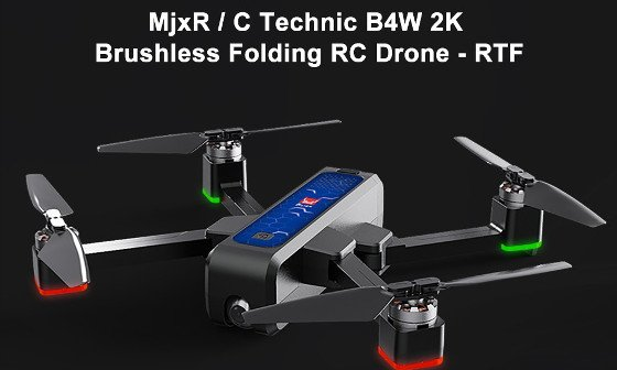 MJX Bugs 4W Review – 2K Camera Drone With Some Advanced Features