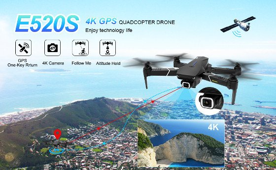 Eachine E520S Review – Affordable HD Camera Drone (Not 4K)