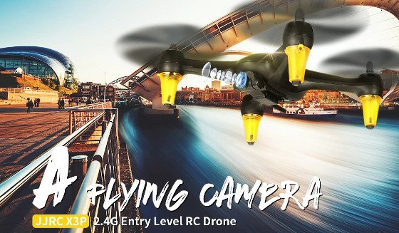 JJRC X3P Review – A Low-Cost HD Camera Drone With Smart Flight Modes