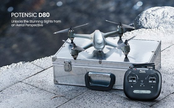 Potensic D80 Review – Quality 2K Camera Drone With Smart Flight Modes
