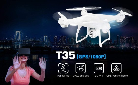 Potensic T35 Review – A Nice Drone With Some Cool Features