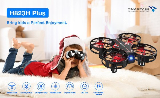 Snaptain H823H Mini Drone – Great Drone For Kids