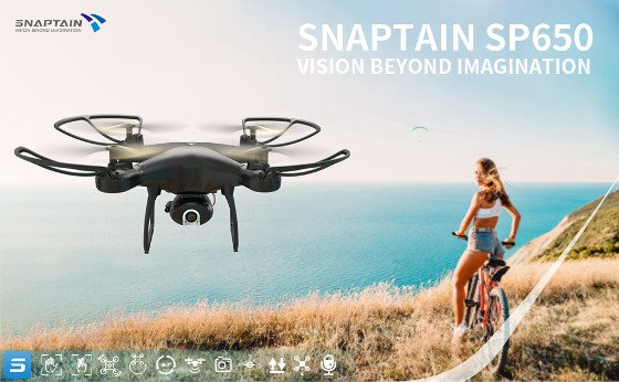 Snaptain SP650 Review – Cool Littel Toy Drone With An HD Camera