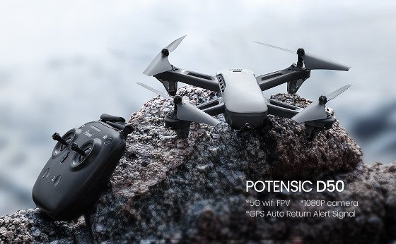Potensic D50 Review – A Beginner-Friendly GPS Drone With An HD Camera