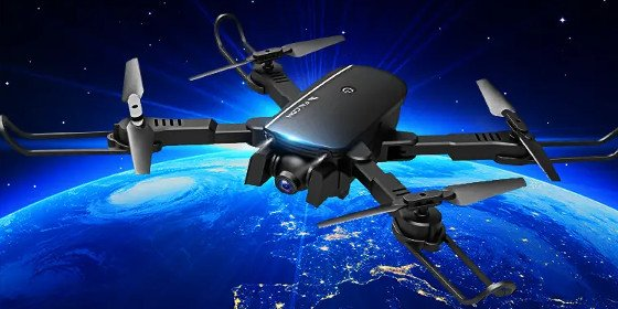 1808 Falcon Drone Review – A Fun Foldable Drone For Less Than $50
