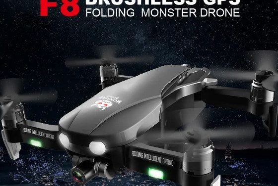 FQ777 F8 Drone Review – A Nice Foldable Drone With A 2.5k Camera