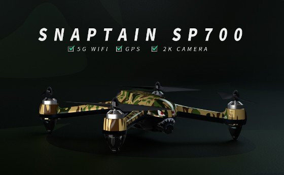 Snaptain SP700 Review – The Most Advanced Drone From Snaptain