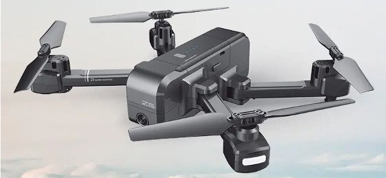 SJRC Z5 Review – A Decent Foldable Drone With An HD Camera