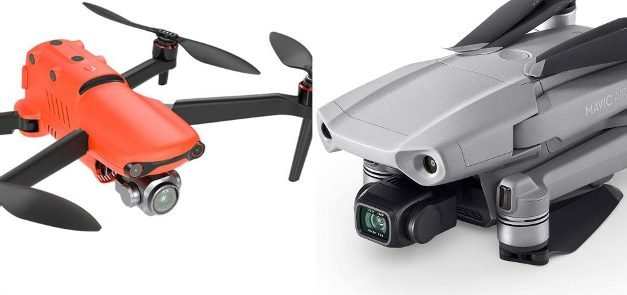 Autel Evo 2 Pro vs Mavic Air 2