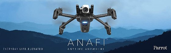 Parrot Anafi Review – A Smart 4K Drone That Has Multiple Uses.
