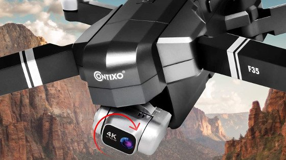 Contixo F35 Review – A Nice Foldable GPS Drone With An HD Camera
