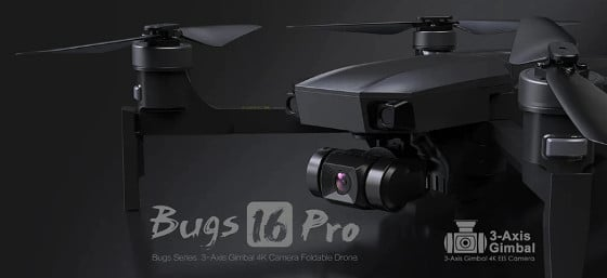MJX Bugs 16 Pro Review – Cool Foldable Drone With An HD Camera & EIS